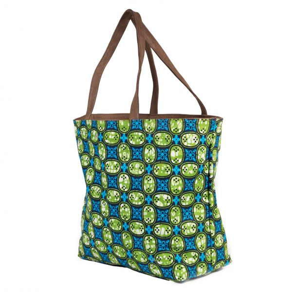 Reversible Bag green buttons