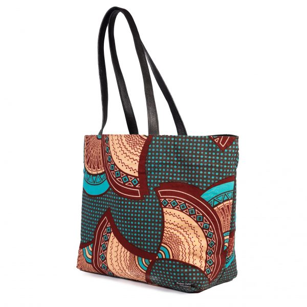Reversible Bag turquoise